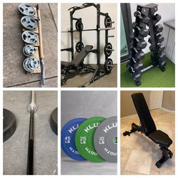 BRAND NEW GYM EQUIPMENT FOR SALE - MESSAGE ME FOR INDIVIDUAL PRICES - Please Read Description And Check Out All The Pictures! xxzmms for Sale in Yorba Linda, CA