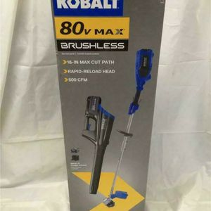 """NEW Kobalt 18"""" 80-Volt Max Brushless String Trimmer Blower Combo Kit 1438133 for Sale in Laurel, MD"""