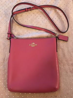 Pink Coach Messenger Bag for Sale in Forest Grove, OR