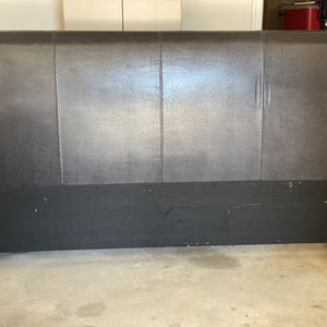 Leather Headboard, Footboard, & Side Railing for Sale in Lithonia, GA