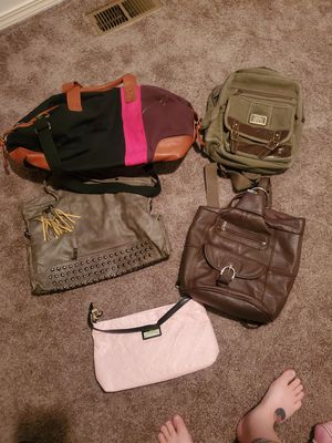 Womens Purses and Small Duffle Bag for Sale in Gig Harbor, WA