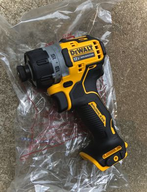 New DeWalt XTREME 12v Sub Compact Brushless Screwdriver (Tool Only) for Sale in Modesto, CA