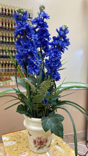 Flower Vase with Fake Flowers for Sale in Alpharetta, GA