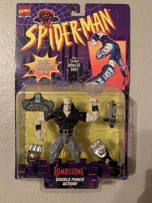 Marvel Spider-Man Animated Series (1995) Tombstone Toy Biz Figure NIP for Sale in Stockton, CA