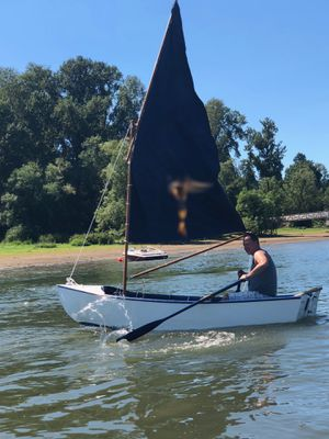 Sailboat 12' row boat romantic picnic boat for Sale in West Linn, OR