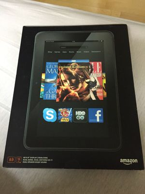 KINDLE FIRE HD 8.9 inch 16 GB for Sale in Jersey City, NJ