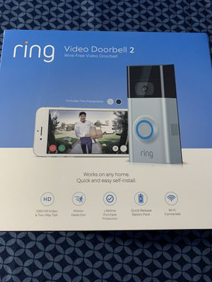 Ring Doorbell 2 for Sale in Westbury, NY