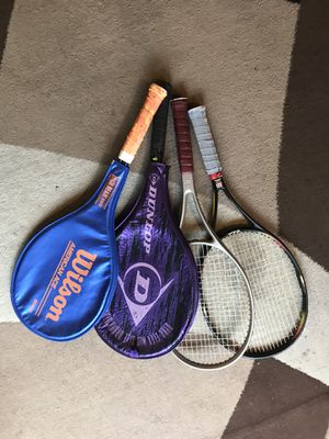 Tennis rackets- great condition for Sale in Santa Monica, CA