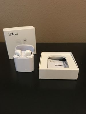 i7s Wireless headphones and charging case for Sale in Spring, TX