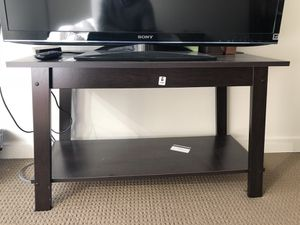 Bed frame + mattress + desk + night stand + tv stand + lamp for Sale in San Francisco, CA