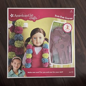 American Girl Pom-Pom Scarves Kit for Sale in Seal Beach, CA