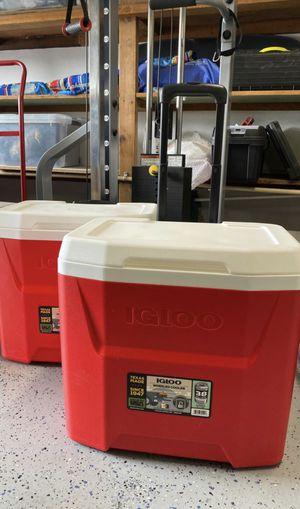 New! Igloo rolling cooler 28 qt for Sale in Orange, CA