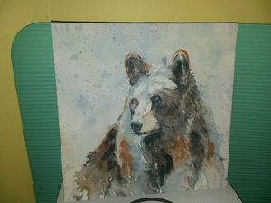 Bear painting for Sale in Lawrence, KS