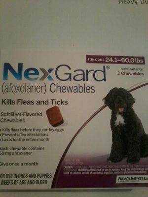 Nextgard 24-60 lbs new for Sale in Montclair, CA