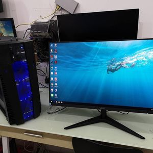 """AOC 27B1H 27"""" FULL HD LCD IPS LED 1920x1080 DESKTOP COMPUTER PC MONITOR vga hdmi for Sale in Chicago, IL"""
