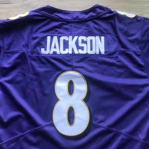 BRAND NEW! 🔥 Lamar Jackson #8 Baltimore Ravens PURPLE Jersey + SHIPS OUT TODAY 📦💨 for Sale in Washington, DC