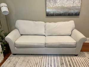 Pull out couch / sofa with mattress for Sale in Miami, FL