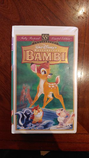 Bambi vhs movie for Sale in Fairfield, CA