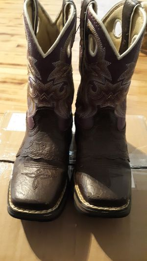 Lil Durango girl boots for Sale in Stockwell, IN