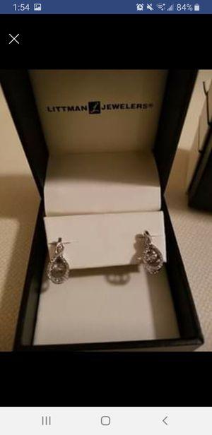 Floating Diamond Earrings for Sale in Summerdale, PA