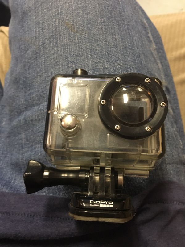 Black GoPro case
