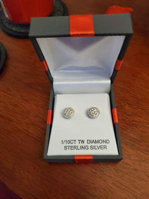 Diamond Cluster Stud Earrings for Sale in Ellicott City, MD