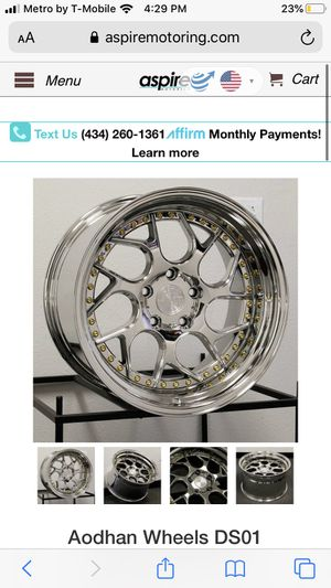Ds01 Chrome rims for Sale in Upland, CA