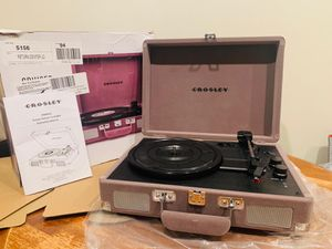 Crosley cruiser premium turntable for Sale in Daly City, CA