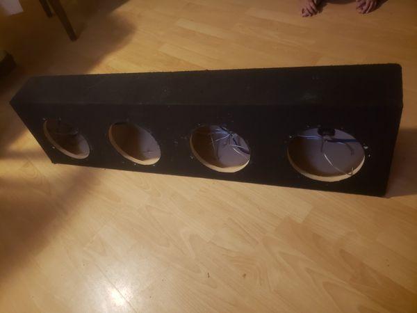 """8"""" subwoofer box sealed"""