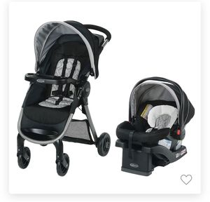 Graco Fast Action SE Travel System stroller and car seat for Sale in Corona, CA