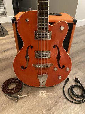 Gretsch Electromatic Bass Guitar and Orange bass amp. for Sale in Merritt Island, FL