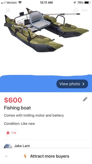 "Fishing boat "" no motor"" for Sale in Sioux Falls, SD"