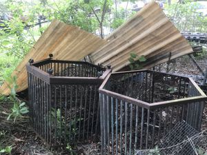 Two homemade heavy metal cages good for birds for Sale in Frostproof, FL