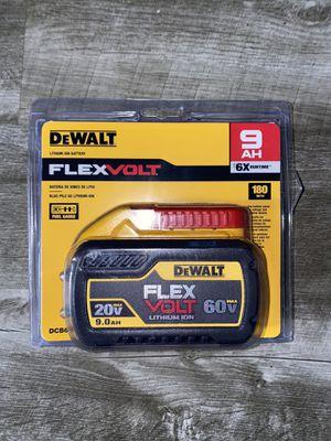 Dewalt flexvolt battery for Sale in Pacific, WA