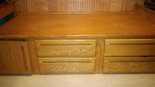 Twin Captains Bed with matching desk