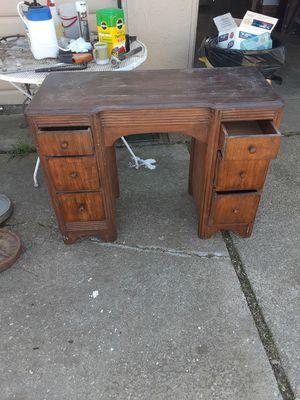 Old desk. for Sale in Stockton, CA