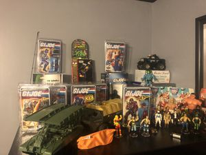 Vintage Action figures wanted GI Joe Star Wars 80's toys for Sale in Greenville, SC
