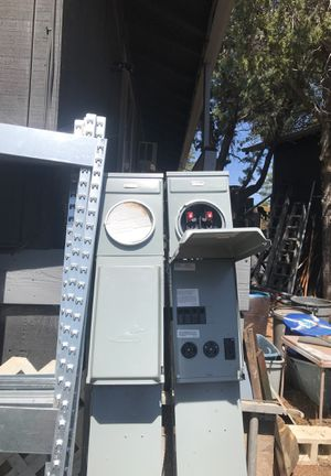 New 100amp double metered RV Pedestal Midwest is the make 13 quantity for Sale in Payson, AZ