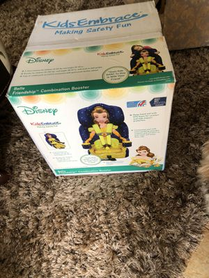 Disney's Princess Belle Combination Booster Seat 30-100lbs for Sale in Fort Lauderdale, FL