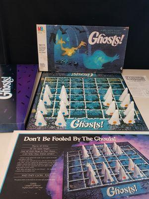 Rare Vintage 1985 Complete Milton Bradley Ghosts Board Game for Sale in Schertz, TX