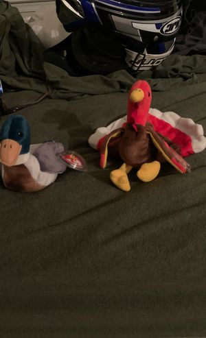 Original beanie babies gobbles and drake for Sale in Newport News, VA