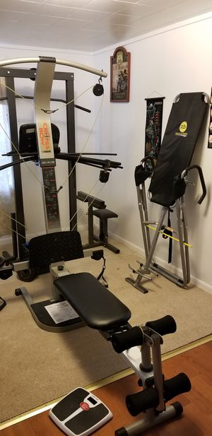 Weight training equipment for Sale in Woodbury, NJ