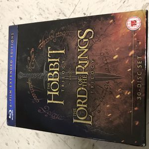 Middle Earth Collection Extended Edition 30 Disc-set Bluray for Sale in Austin, TX