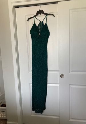 Emerald Green Prom Dress for Sale in Grimes, IA