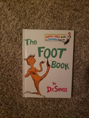 Dr Seuss The Foot Book for Sale in Ankeny, IA