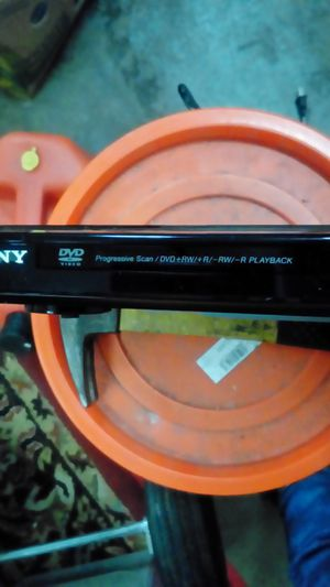 Sony DVD-cd player no remote for Sale in Spanaway, WA