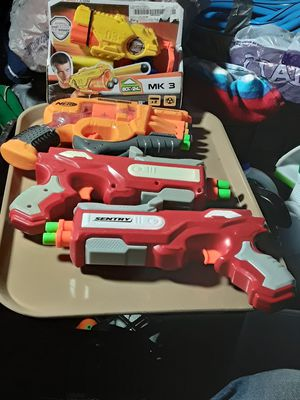 4 Nerf Guns for Sale in Springfield, OH
