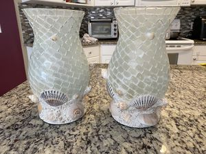 2 Beach Decor Vases for Sale in Tampa, FL