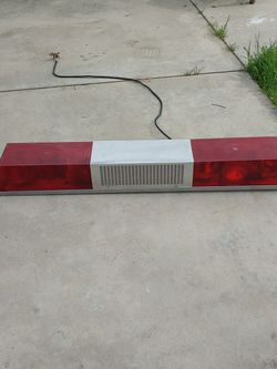Vintage Fire Emergency Light Bar for Sale in Madera,  CA