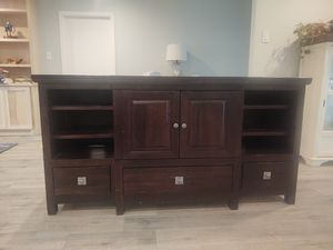 """70"""" rustic console tv stand for Sale in Houston, TX"""
